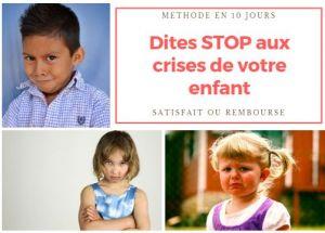 L'enfant qui fait des crises